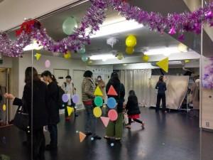 クリスマス会小金井飾り